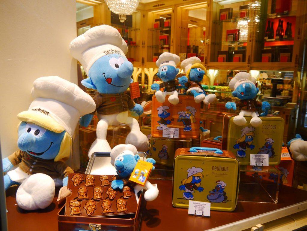 Chocolates Pitufos